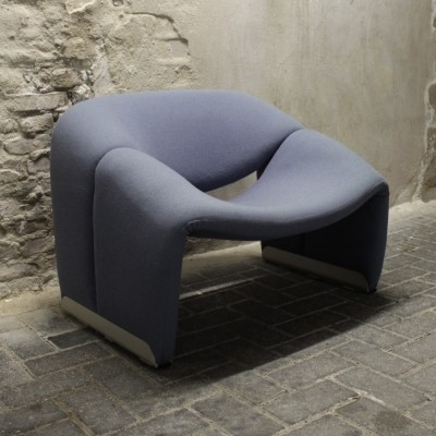 F598 Groovy lounge chair from the seventies by Pierre Paulin for Artifort