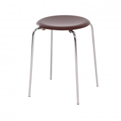 Danish Dot Stool 3170 by Arne Jacobsen for Fritz Hansen, 1981