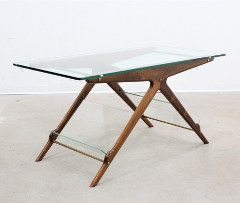 Coffee table from the fifties by Ico Parisi for unknown producer