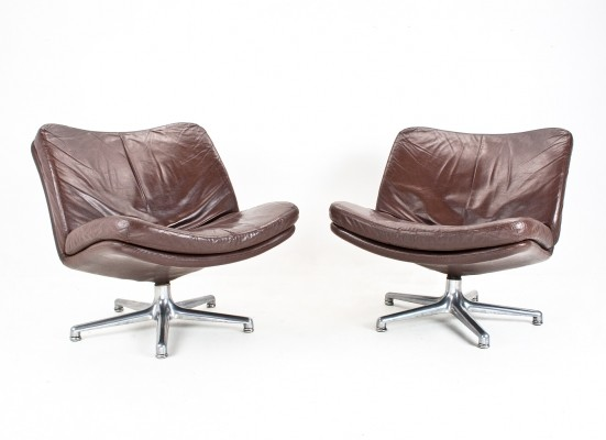 2 lounge chairs from the sixties by Geoffrey Harcourt for Artifort