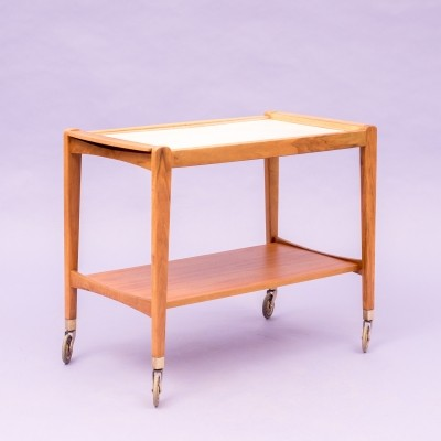 Serving trolley from the fifties by unknown designer for Wilhelm Renz