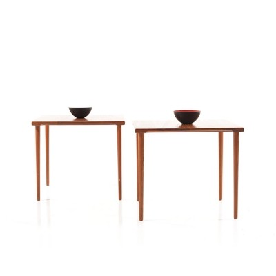 Pair of Mid Century danish Teak Side Tables by France & Son