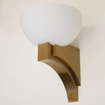 348 B V wall lamp from the seventies by Jean Perzel for Perzel