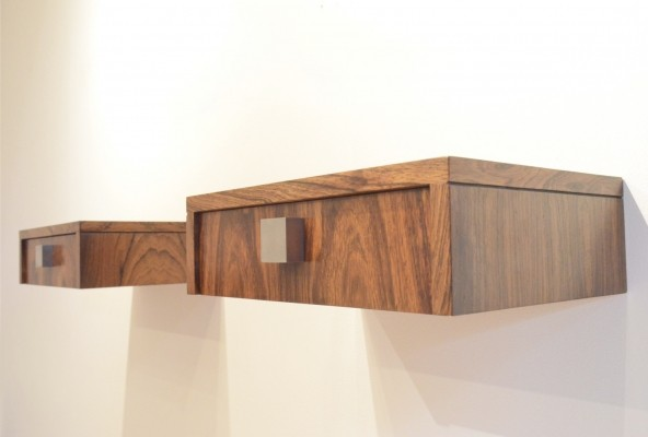 Set of 2 wall units from the sixties by Alfred Hendrickx for Belform