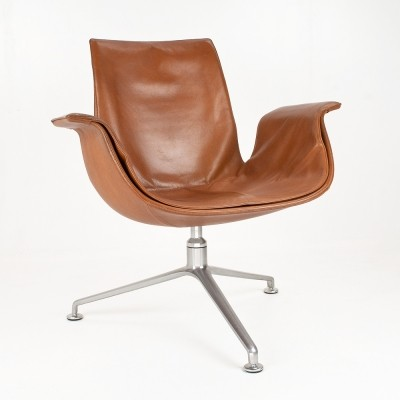 FK lounge chair from the sixties by Preben Fabricius & Jørgen Kastholm for Knoll