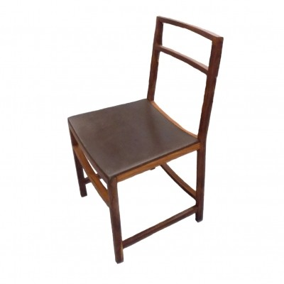 Rosewood chairs by Renato Venturi for MIM Roma - set of 3