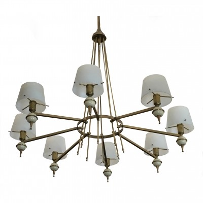 Italian Chandelier from Stilnovo, 1950s