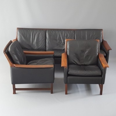 Minerva seating group by Torbjørn Afdal for Bruksbo Norway, 1960s