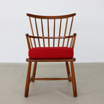 Windsor 1638 arm chair from the sixties by Ove Boldt for Fritz Hansen