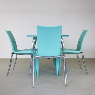 Louise & Louis 20 dining set by Philippe Starck for Vitra, 1990s