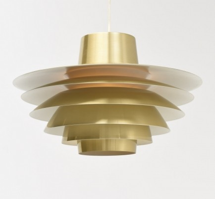 Verona hanging lamp from the sixties by Sven Middelboe for Nordisk Solar
