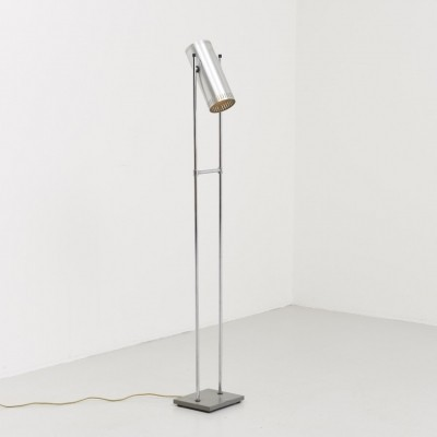Trombone II floor lamp from the sixties by Jo Hammerborg for Fog & Mørup