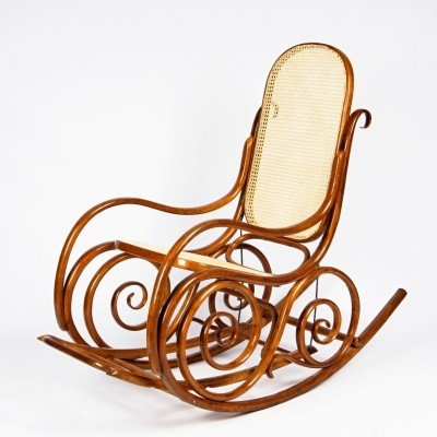 Rocking chair from the twenties by unknown designer for Thonet