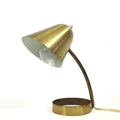 Jacques Biny desk lamp, 1950s