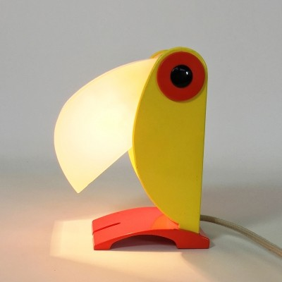 Tucano desk lamp from the sixties by unknown designer for Old Timer Ferrari