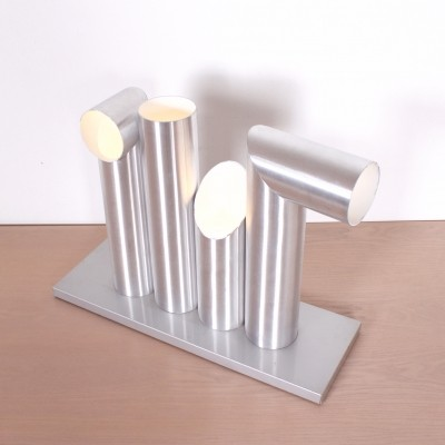 Light Sculpture desk lamp from the sixties by Maurice Grothausen for Raak Amsterdam