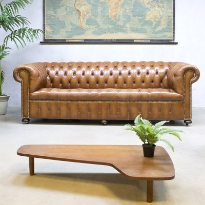 2 sofas from the seventies by unknown designer for Chesterfield