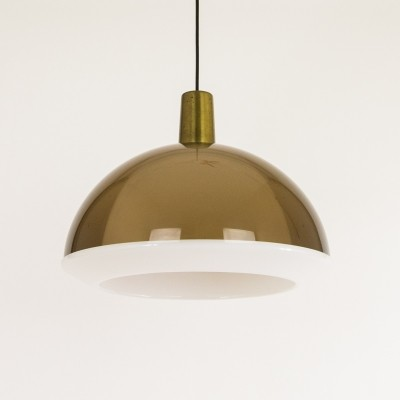 Kuplat hanging lamp from the sixties by Yki Nummi for Orno Stockmann