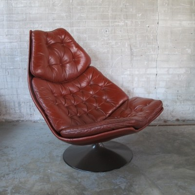 F588 lounge chair from the sixties by Geoffrey Harcourt for Artifort