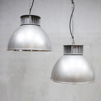 10 hanging lamps from the sixties by unknown designer for AEG