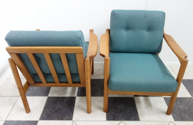2 Stella lounge chairs from the sixties by Walter Knoll for Walter Knoll