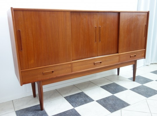 SKAB nr 103 sideboard from the sixties by unknown designer for K. Ronde Andersen