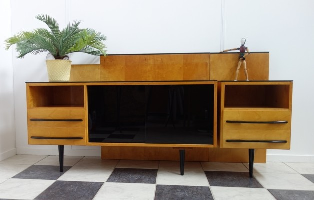 Sideboard from the fifties by Jindřich Halabala for UP Závody