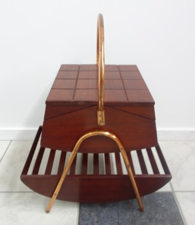 Portable Sewing box from the sixties by unknown designer for unknown producer