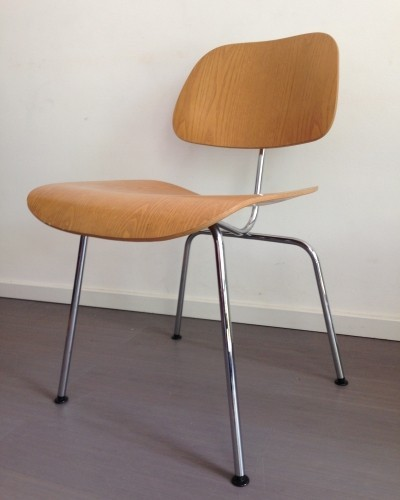 Set of 4 DCM dinner chairs by Charles & Ray Eames for Vitra, 1950s