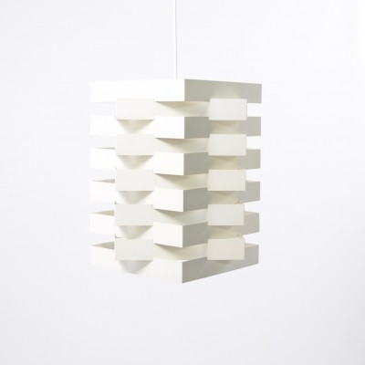 XL Star-shaped hanging lamp from the fifties by Niels Esmann for Nordisk Solar