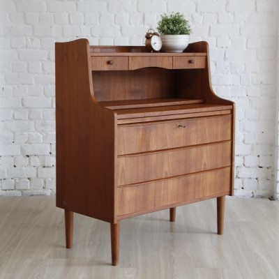 Secretary chest of drawers from the sixties by unknown designer for unknown producer
