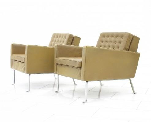 Very rare 460S lounge chairs by Roland Rainer for Wilkhahn, 1956