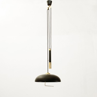 Hanging lamp from the fifties by unknown designer for Sciolari