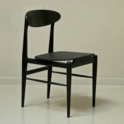 3 dinner chairs from the fifties by unknown designer for unknown producer