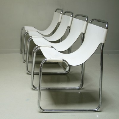 4 dinner chairs from the sixties by unknown designer for unknown producer