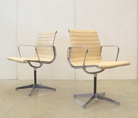 5 EA108 office chairs from the sixties by Charles & Ray Eames for Herman Miller
