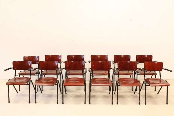 36 dinner chairs from the seventies by unknown designer for Pagholz