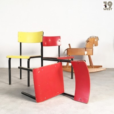 Chair children furniture from the fifties by unknown designer for unknown producer