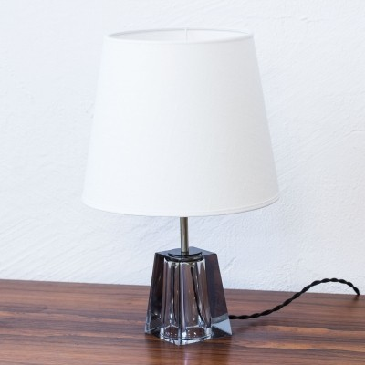 RD 1635 desk lamp from the sixties by Carl Fagerlund for Orrefors