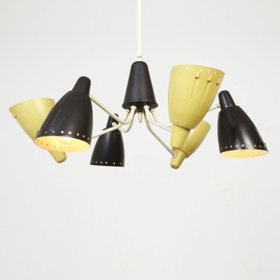 H. Busquet Chandelier for Hala 1950s