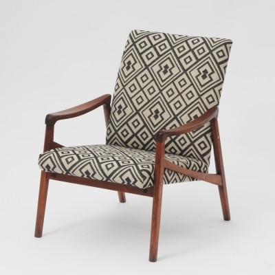 Ton Czechoslovakia arm chair, 1960s