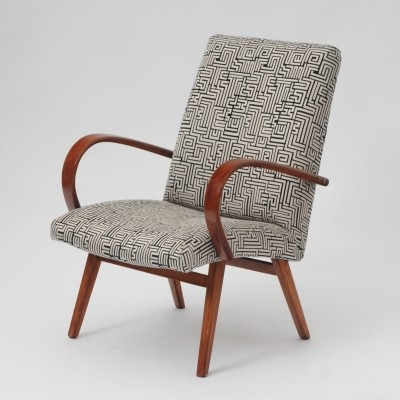 Arm chair from the sixties by unknown designer for Ton Czechoslovakia