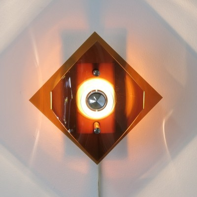Wall lamp from the seventies by unknown designer for unknown producer