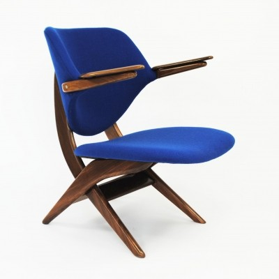 2 x Pelican lounge chair by Louis van Teeffelen for Wébé, 1950s