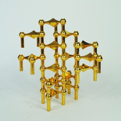 Candlestickholder from the sixties by Fritz Nagel & Ceasar Stoffi for BMF