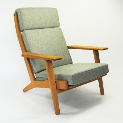 GE290 lounge chair by Hans Wegner for Getama, 1950s