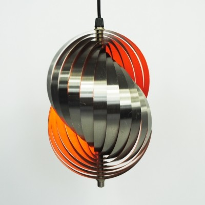 Hanging lamp from the sixties by Henri Mathieu for Lyfa