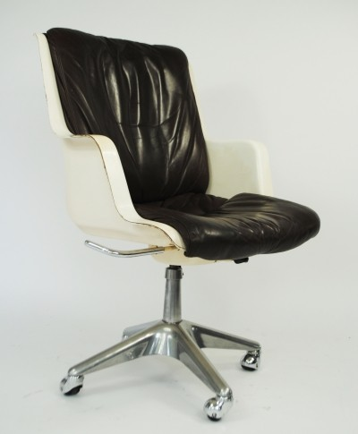 Office chair from the sixties by unknown designer for unknown producer