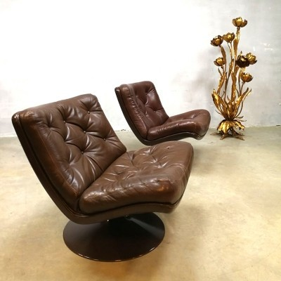 F978 lounge chair from the sixties by Geoffrey Harcourt for Artifort