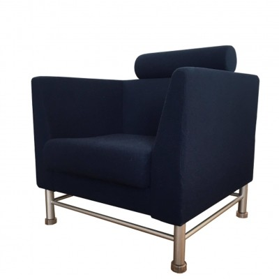 Eastside lounge chair from the eighties by Ettore Sottsass for Knoll